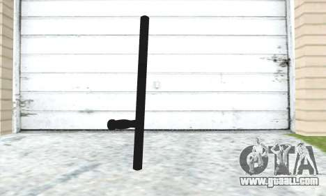 Telescopic baton for GTA San Andreas