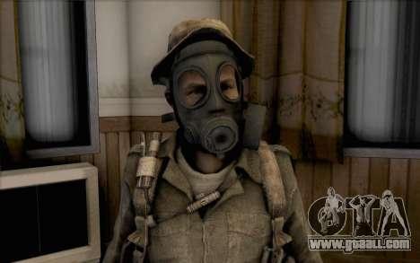 Captain price (in mask) for GTA San Andreas