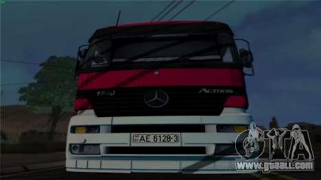 Mercedes-Benz 1840 for GTA San Andreas left view