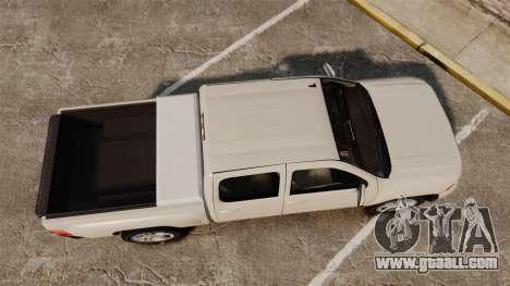 Chevrolet Silverado 1500 2010 for GTA 4 right view