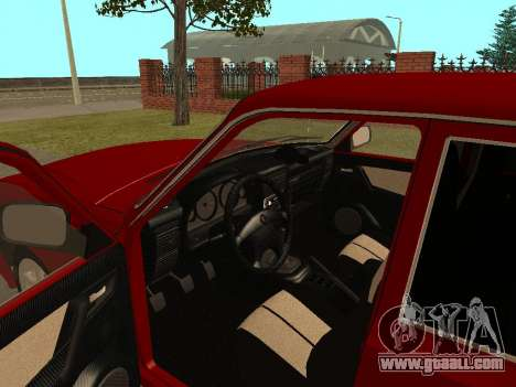 GAZ Volga 31105 for GTA San Andreas inner view
