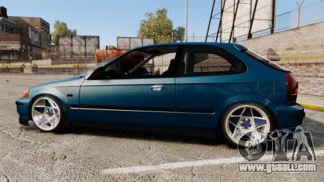 Honda Civic EK for GTA 4 left view