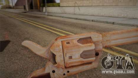 Colt Peacemaker (Chrome) for GTA San Andreas second screenshot