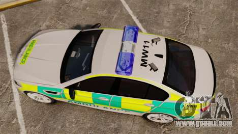 BMW M5 Ambulance [ELS] for GTA 4 right view