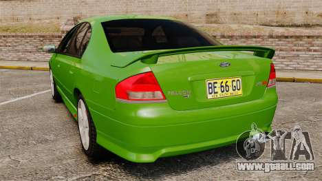 Ford Falcon XR8 for GTA 4 back left view