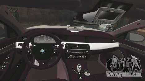 BMW M5 Ambulance [ELS] for GTA 4 side view