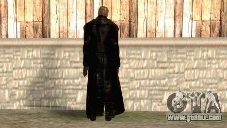 Albert Wesker in the cloak for GTA San Andreas second screenshot
