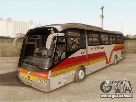 Higer KLQ6129QE - Victory Liner 8107 for GTA San Andreas
