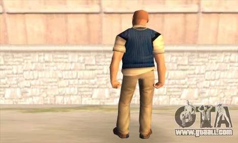 Jimmy Hopkins for GTA San Andreas second screenshot