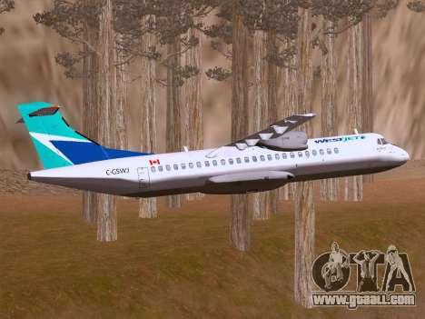 ATR 72-500 WestJet Airlines for GTA San Andreas inner view
