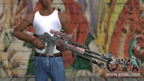 M14 EBR Red Tiger for GTA San Andreas third screenshot