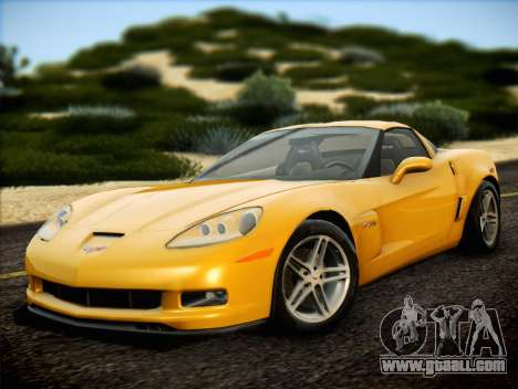 Chevrolet Corvette Z06 2006 v2 for GTA San Andreas