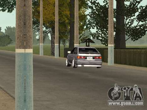 Toyota Corolla GTS Drift Edition for GTA San Andreas back view