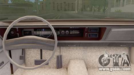 Chrysler New Yorker 4 Door Hardtop 1971 for GTA San Andreas back left view