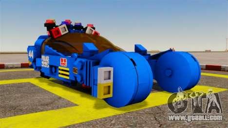 Lego Car Blade Runner Spinner [ELS] for GTA 4