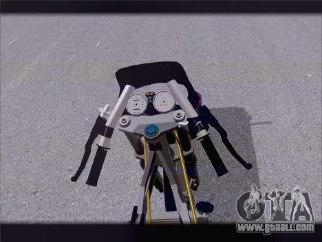 Suzuki Satria FU for GTA San Andreas back view