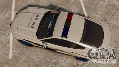 Ford Mustang GT 2015 Cheng Guan Police for GTA 4 right view
