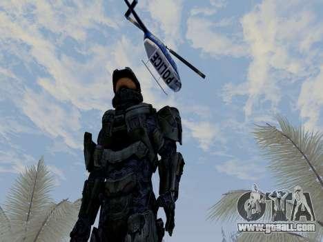 Master Chief for GTA San Andreas forth screenshot