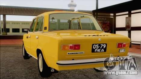 VAZ 21011 Taxi for GTA San Andreas bottom view