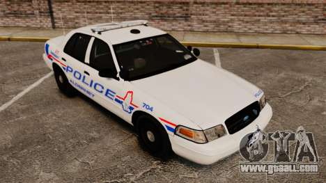 Ford Crown Victoria 2008 LCPD Patrol [ELS] for GTA 4 side view