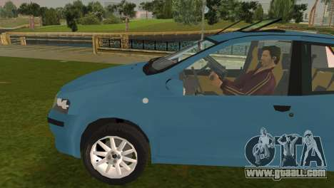 Fiat Punto II for GTA Vice City left view