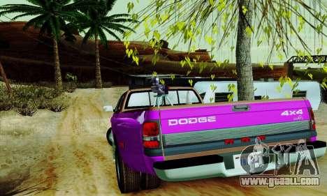 Dodge Ram 3500 for GTA San Andreas interior