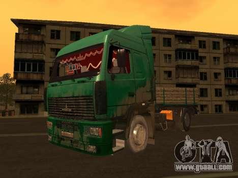 MAZ 5440 for GTA San Andreas