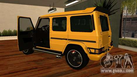Mercedes-Benz G65 AMG for GTA San Andreas inner view