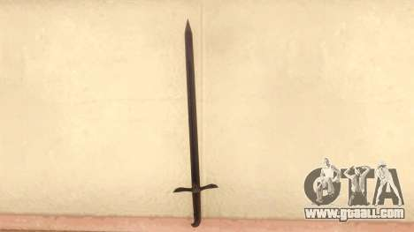 Sword Of Altair for GTA San Andreas