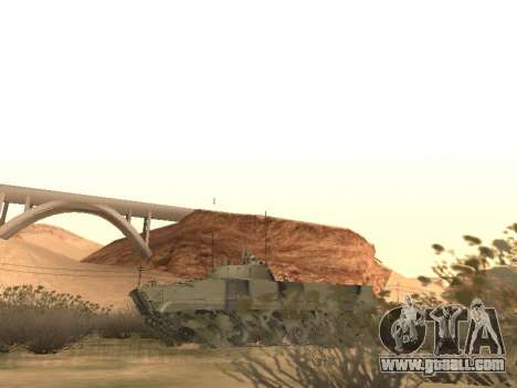 BMP-3 for GTA San Andreas inner view