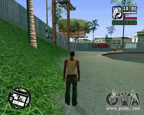 New HD Skate Park for GTA San Andreas eighth screenshot