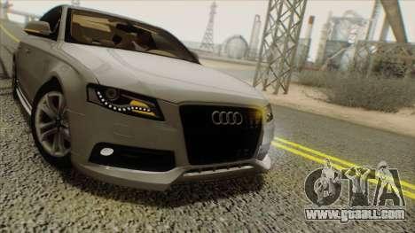 Audi S4 for GTA San Andreas