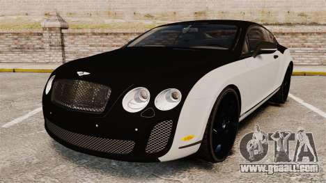 Bentley Continental SS v3.0 for GTA 4