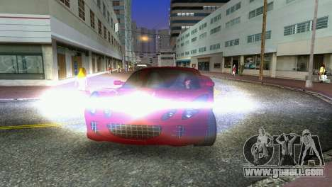 Lotus Elise for GTA Vice City inner view