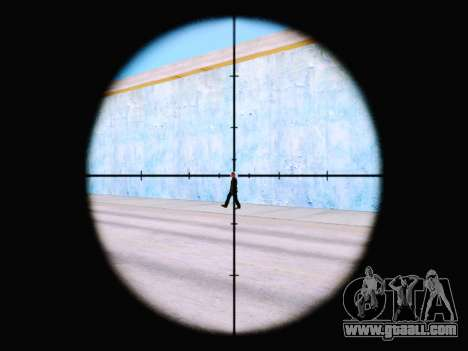 The new rifle sight for GTA San Andreas second screenshot