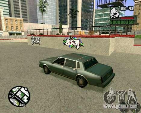 New HD Skate Park for GTA San Andreas forth screenshot