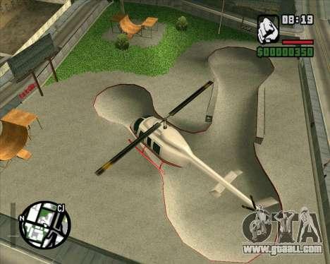 New HD Skate Park for GTA San Andreas third screenshot