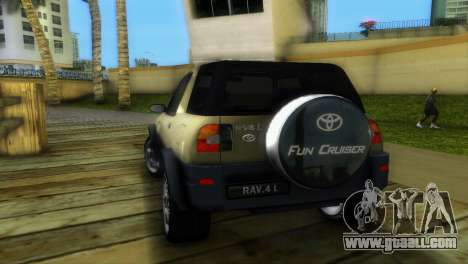 Toyota RAV 4 L 94 Fun Cruiser for GTA Vice City right view