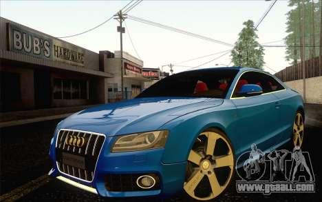 Audi S5 for GTA San Andreas