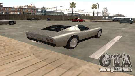 Monroe of GTA 5 for GTA San Andreas right view