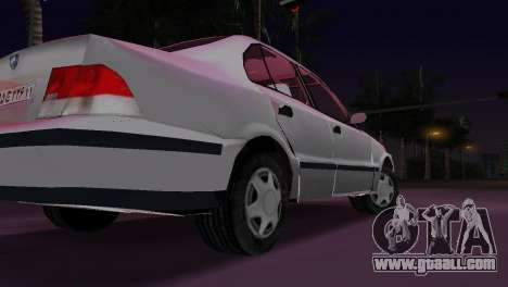 Samand for GTA Vice City back left view