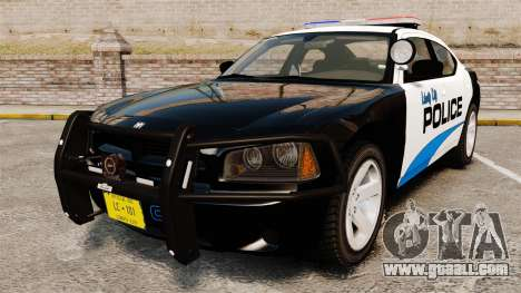 Dodge Charger 2010 Police [ELS] for GTA 4