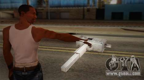 Uzi of Max Payne for GTA San Andreas second screenshot
