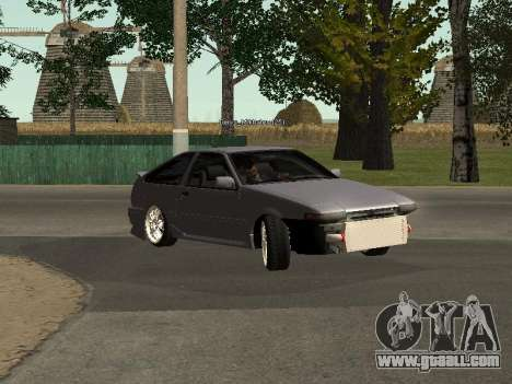 Toyota Corolla GTS Drift Edition for GTA San Andreas