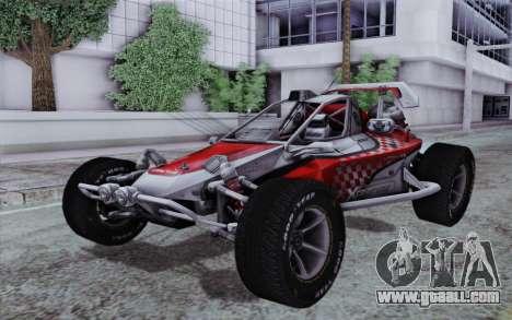 Buggy XCelerator XL for GTA San Andreas