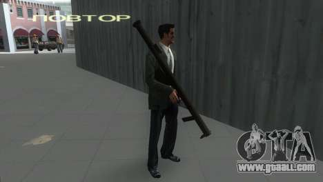 Bazooka from MoH: AA for GTA Vice City second screenshot