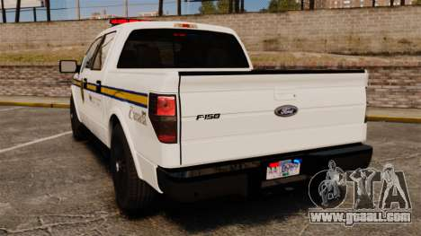 Ford F-150 2012 CEPS [ELS] for GTA 4 back left view