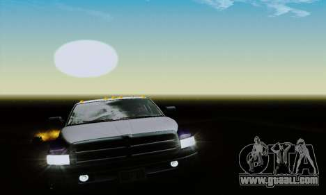 Dodge Ram 3500 for GTA San Andreas side view