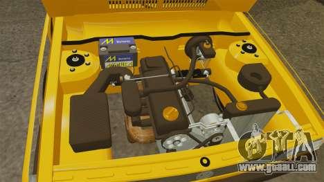 Volkswagen Voyage 1990 for GTA 4 inner view