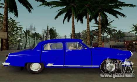 GAZ 21 Volga for GTA San Andreas left view